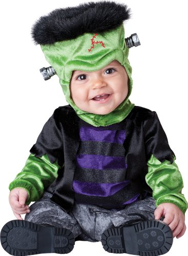 InCharacter Costumes Baby's Monster-Boo Costume, Black/Green/Purple,