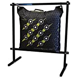 Rinehart 18740 Flexible and Durable Hanging Bag Stand in Black Color