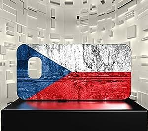 Funda Carcasa para Galaxy S7 Bandera REPÚBLICA CHECA 07