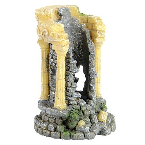 Underwater Treasures 65243 Roman Ruins Aquarium Ornament