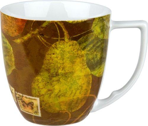 Waechtersbach Accents Nature Mugs, Pears, Set of 4