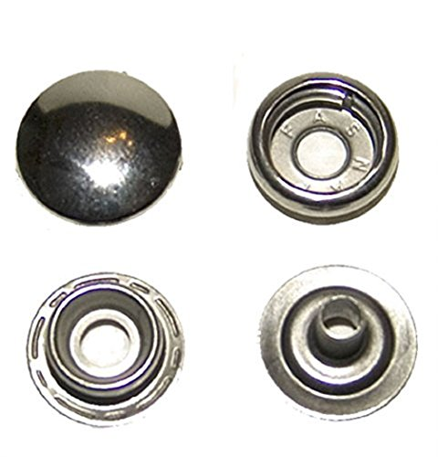 Stainless Steel Snaps, 200 Piece