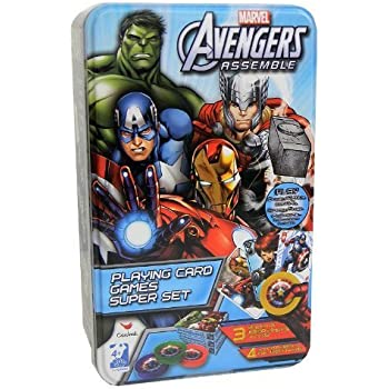 Amazon.com: Marvel Avengers 2 Age of Ultron Playing Cards ...