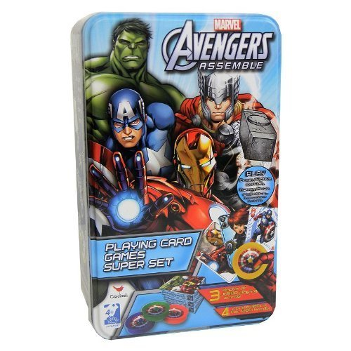 Marvel Avengers Playing Card Games Super Set by Cardinal]()
