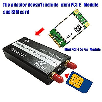 USB to mini PCIE converter and ZTE/Sierra Wireless cards