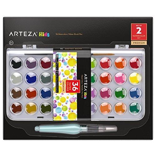 arteza水彩ペイント&水ブラシペン ARTZ-8201