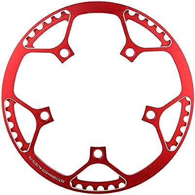 Keenso Plato 53T de Bicicleta, 130 BCD Plato CNC Aleación de ...