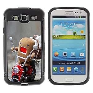 "Hypernova Defender Series TPU protection Cas Case Coque pour Samsung Galaxy S3 III I9300 [Divertido Domo Rawr""]"