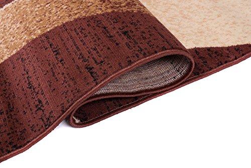 Tapiso Dream Teppich Wohnzimmer Modern Wellen Streifen Rot Rot Rot Creme Leicht Meliert Schlafzimmer Esszimmer Gästezimmer ÖKOTEX 220 x 300 cm B07HL3TN1Y Teppiche f1a3a5