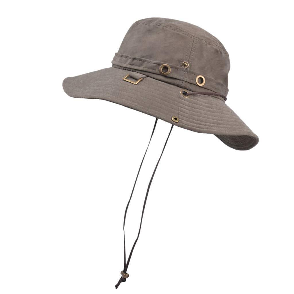 052cfbee780273 YQZB Packable Straw Fedora Panama Sun Summer Beach Hat Cuban Trilby Men  Women Army Green at Amazon Women's Clothing store: