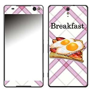 "Motivos Disagu Design Skin para Sony Xperia C5 Ultra: ""Breakfast"""