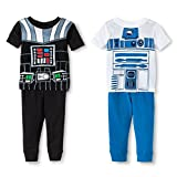 Star Wars Boys Friend Or Foe Uniform 4-Piece Pajama Set