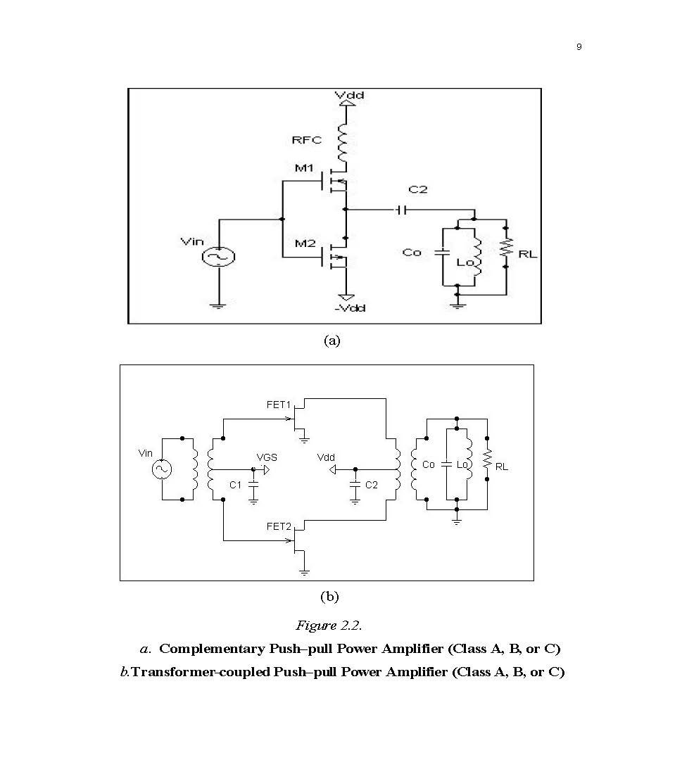 Design Of Class E Radio Frequency Power Amplifier Student Loose C Circuit Diagram Leaf Edition Saad Al Shahrani Books