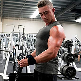 Coofandy Mens Tank Tops 3 Pack Gym Workout Sports Vest Fitness Muscle Bodybuilding Sleeveless T-Shirt