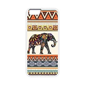 """kimcase Custom Indian Elephant Cover Case for iPhone6 4.7"""""""
