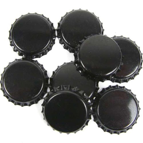 Crown Caps - Black - 1000 Dowricks Goodlife