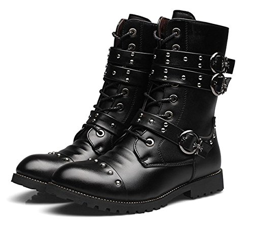 Retro Motorcycle Boots - 3