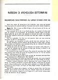 Recherches sous-marine au large d'Agde (1951-53) .