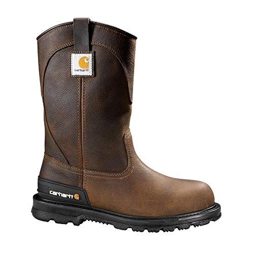Carhartt Men's CMU1242 Work Boot,Dark Brown Oil Tanned,10 W US