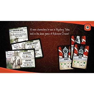 Portal Games Robinson Crusoe Mystery Tales: Toys & Games
