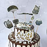 24 Pcs PUBG Player unknown's Battlegrounds Cake