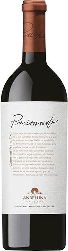 Cabernet Franc - 2012-6 x 0,75 lt. - Andeluna Pasionada: Amazon.es: Alimentación y bebidas