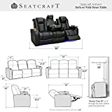 Seatcraft Anthem Home Theater Seating Leather