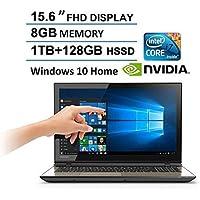 Toshiba S55T 15.6 Full HD Touchscreen Flagship Premium Gaming Laptop, Intel Core i7-5500U Processor, NVIDIA GeForce GTX 950M, 12GB RAM, 1TB HDD+128GB SSD, DVD+/-RW, Webcam, Windows 10