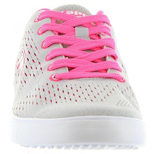 Zapatillas deporte de Mujer KAPPA 302GWB0 DEM C56 GREY ASH FUSHIA