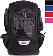 Athletico Swim Backpack - Pool Bag Wet & Dry Compartments Swimming, The Beach, Camping &a