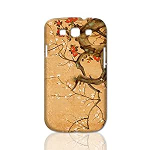 Blooming Tree 3D Rough Case Skin, fashion design image custom, durable hard 3D case cover, Case New Design for For Iphone 5/5S Case Cover , By Codystore
