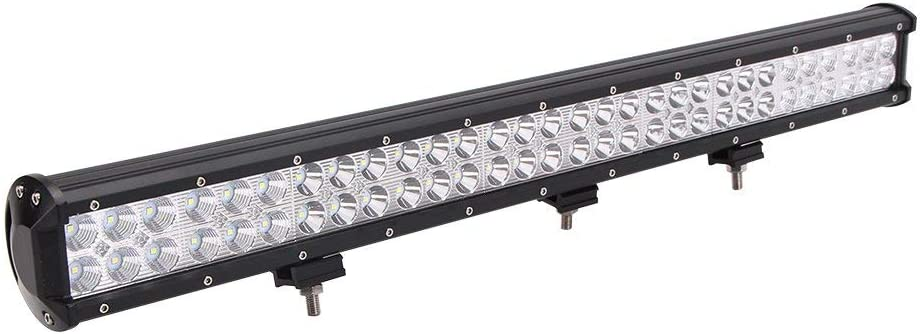 "1X 17/""INCH TRI ROW 540W CREE LED LAMP LIGHT BAR SPOT+FLOOD COMBO TRUCK 12/""//14/"""