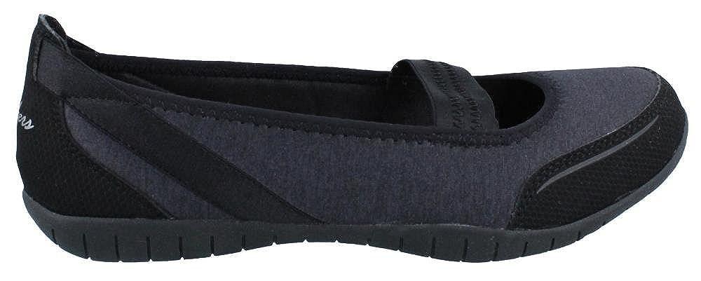 a8522dd47b60 Skechers Women s Atomic Magnetize Mary Jane Black 7.5 B(M) US  Amazon.in   Shoes   Handbags