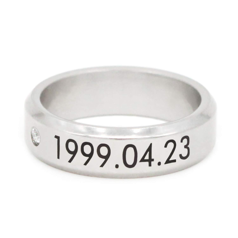 Rings Kpop Team Exo Birthday Memorial Exo Titanium Ring Exo Free Shipping 100% High Quality Materials