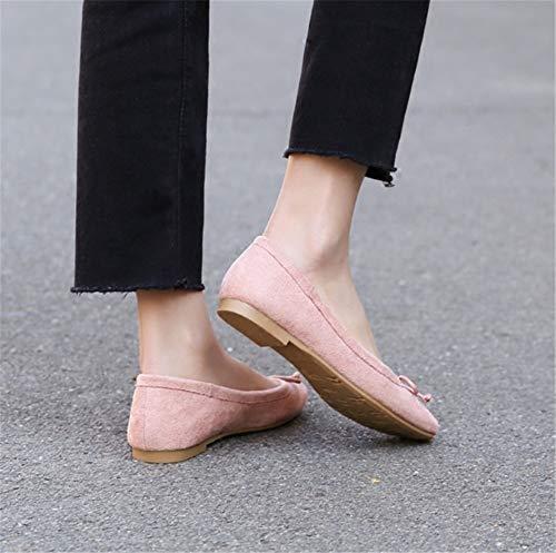 de Zapatos Mujer cómodos UE Ballet Zapatos y de 40 Zapatos Casual Planos Zapatos Primavera Trabajo FLYRCX 42 de otoño EU de Moda de Damas UZA1f66nW