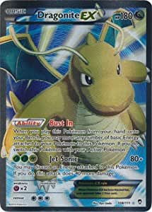 Holo Foil Dragonite EX # 74//111 XY Furious Fists Set Pokemon Trading Cards SP