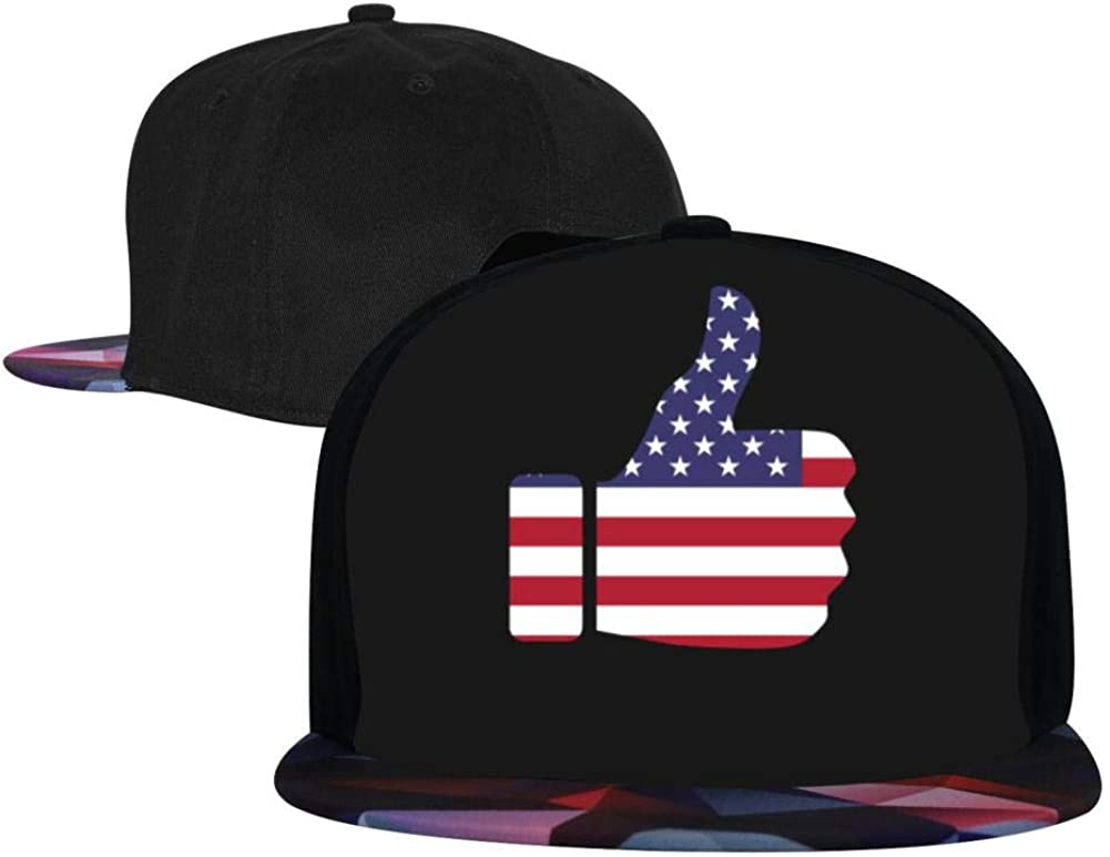 Adjustable Hip Hop Flat-Mouthed Baseball Caps EUYK77 Trump 2020 3 Mens and Womens Trucker Hats