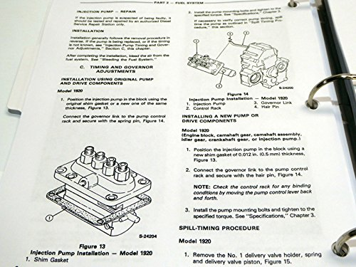 Ford 1920 2120 Tractor Service Manual Motor Pany Amazon Books: 1920 Ford Tractor Wiring Diagram At Satuska.co