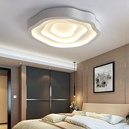 Luces de techo $ Lámparas de Techo Led Creative Rose Forma ...