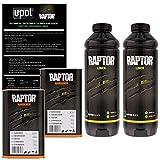 U-POL Raptor Black Urethane Spray-On Truck Bed Liner & Texture Coating, 2 Liters by U-Pol