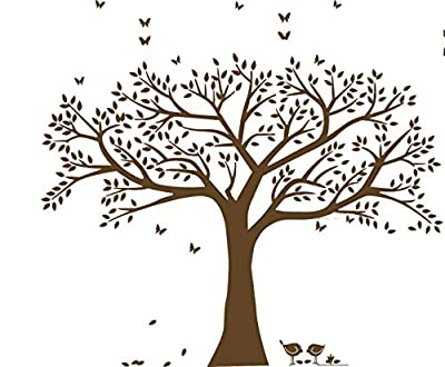 Giant Family Photo Tree Wall Decal Wall Sticker Vinyl Mural Art for Home Decor Room Decor