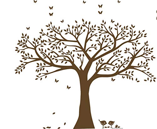Giant Family Photo Tree Wall Decal Wall Sticker Vinyl Mural Art for Home Decor Room Decor ()