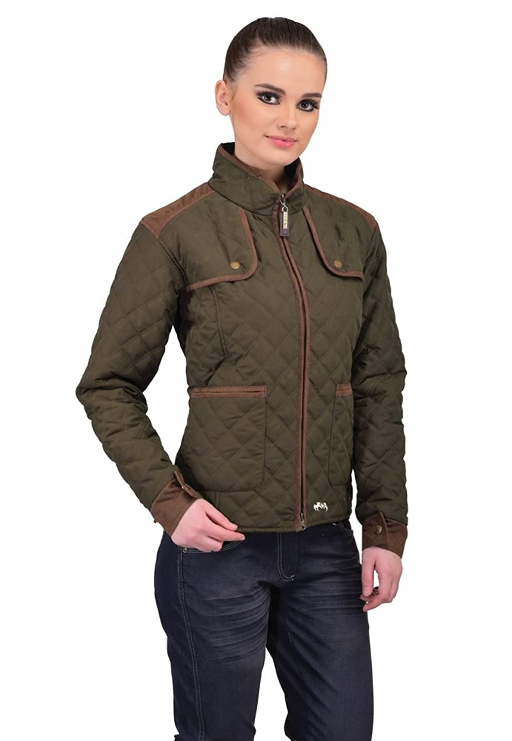 92e4f59bfd Made from lightweight quilted Micro Polyester, our Equine Couture ladies  jackets are the perfect layer to wear during chilly riding days during the  autumn ...