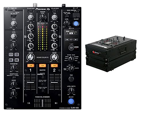 Pioneer DJM-450 + Odyssey Black Label Case