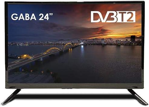 Televisión GABA by BSL 24 Pulgadas | Full HD con DVBT-2 | Clase Energética A.: Amazon.es: Electrónica