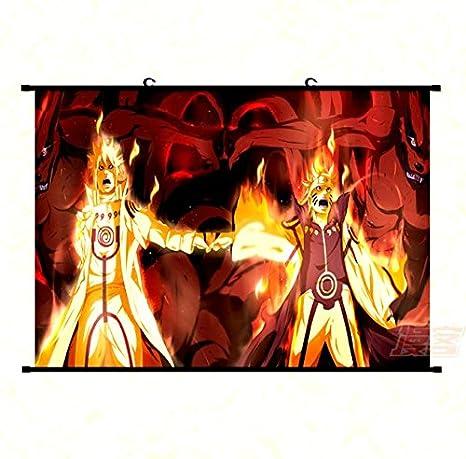 Anime Manga Naruto Uzumaki Großes Wallscroll Poster Rollbild Dekoration 60x90CM