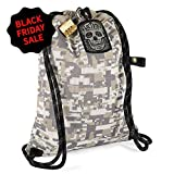 Cheap LOCTOTE Flak Sack II Coalition – The Most Badass Theft-Resistant Bag | Anti-Theft | Lockable | Slash-Proof | Glow-in-The-Dark