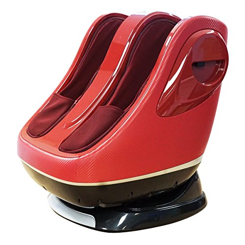 Shiatsu Kahuna Foot & calf Massager 088 RED
