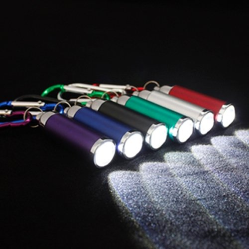 Luz LED Mini LED foco variable linterna con mosquetón ...