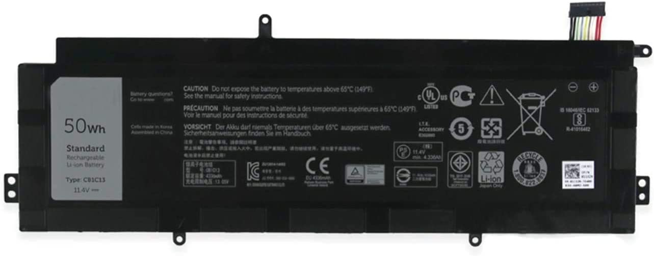 BOWEIRUI CB1C13 (11.4V 50Wh 4336mAh) Replacement Laptop Battery for Dell Chromebook 11 Series 01132N NHXVW